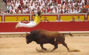 アクロバット闘牛