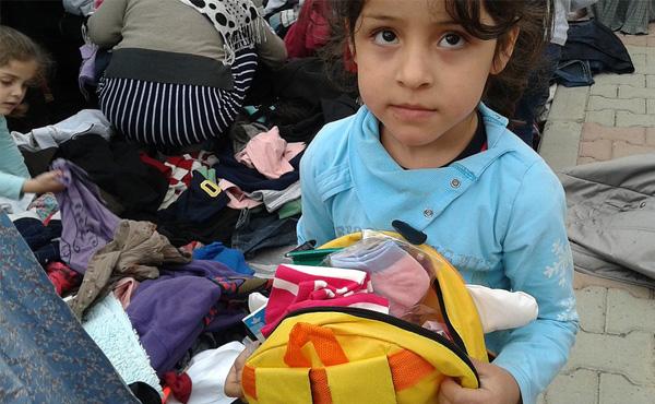 シリア難民キャンプ
