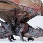 ドラゴンの折り紙