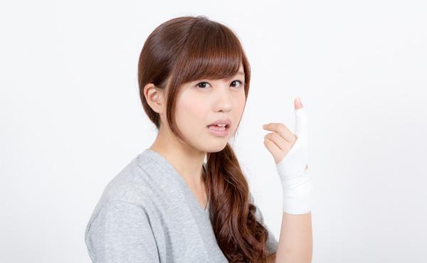 怪我の治療